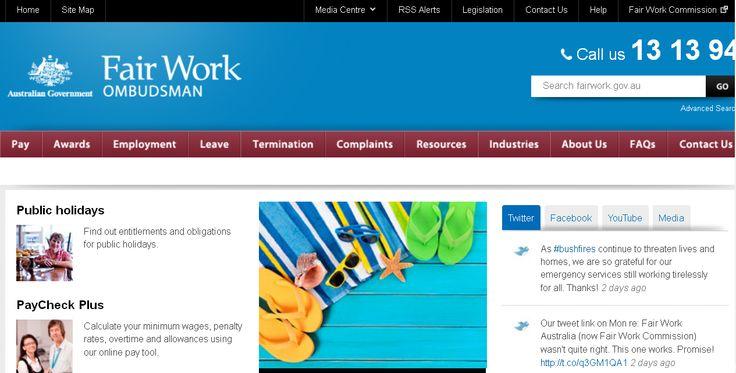 工作申訴或救援管道- Fair Work Ombudsman --- 澳洲流浪事件簿