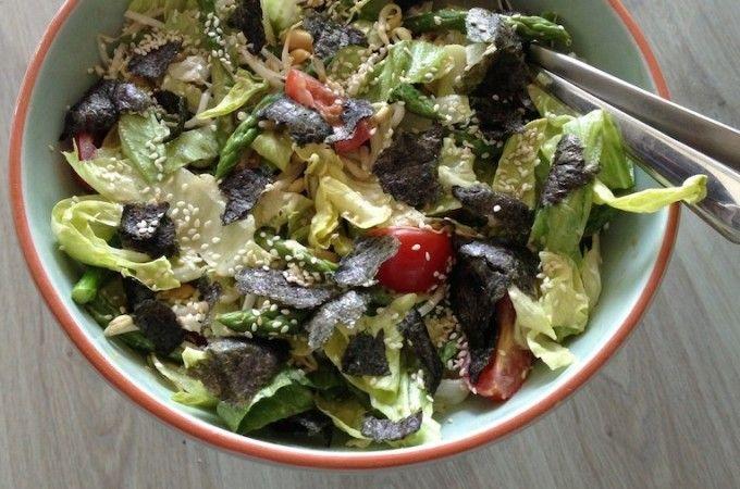 Japanse salade | Francesca Kookt!