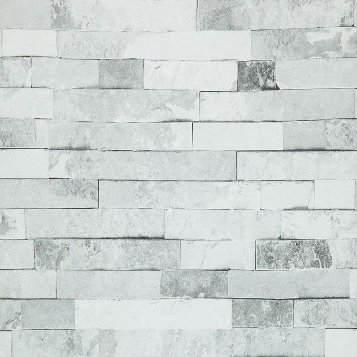 Grey Brick Feature Wall - 6 Cement