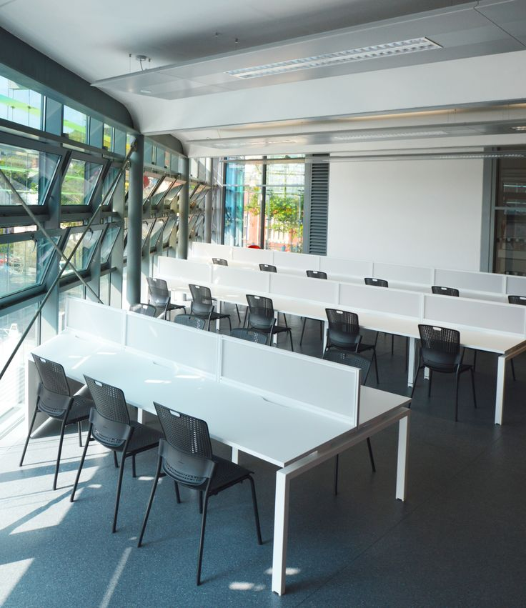 University of South Wales, Trinity St David - Alexandra Road Design Exchange: bof Symphony bench desking with Humanscale Cinto chairs.