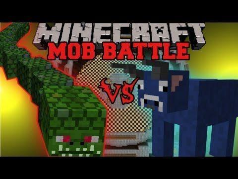 Herobrine Vs. Mutant Snow Golem - Minecraft Mob Battles - Herobrine Mob Mod - YouTube