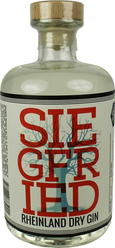 Siegfried Rheinland Dry Gin 0,5l - Aromenstar dank Lindenblüten