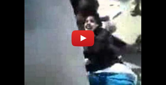 Support Israel: Watch: A group of Muslims attacking without mercy ...