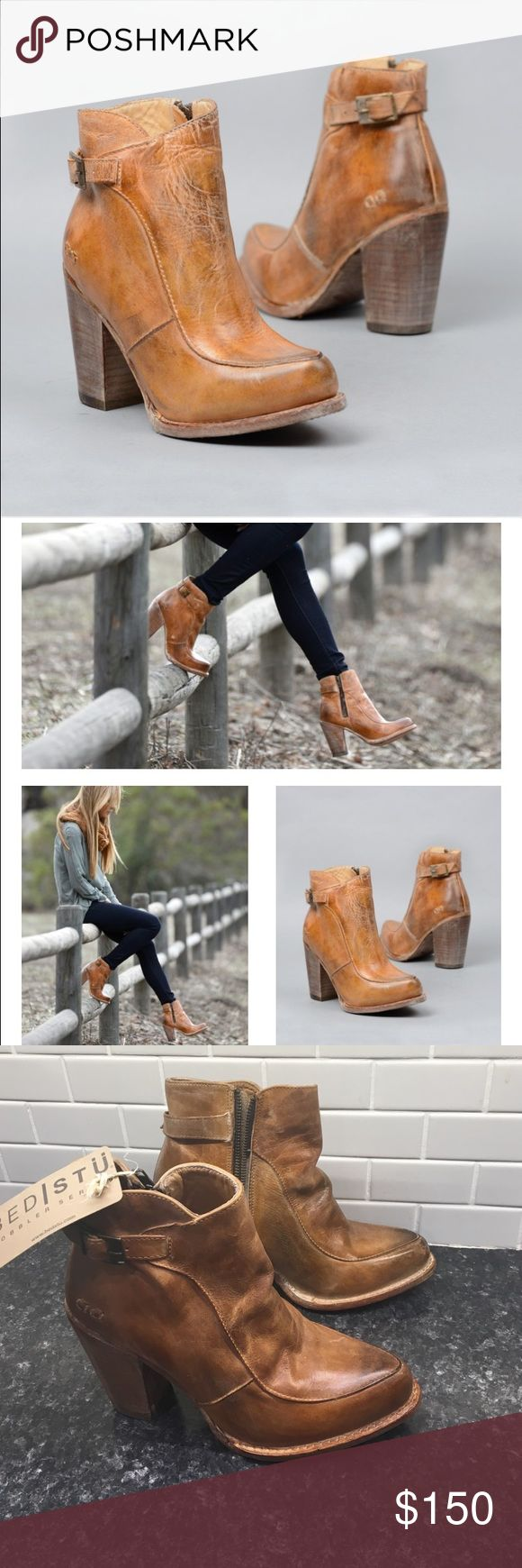 Bed Stu Isla Boots 🌺 Gorgeous boots- Bed Stu is my favorite and I have a habit of buying a few at once. These are new with tags- natural stress on leather. Cool to wear with basically anything! z#0145 Bed Stu Shoes Ankle Boots & Booties