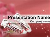 Wedding Rings PowerPoint templates designed to congratulations for a wedding, jewelry sales and etc.