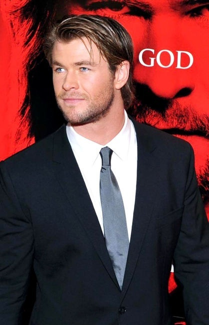 "CHRISTIAN GREY -- Chris Hemsworth <3 #FiftyShades ""Laters, Baby"" <3"