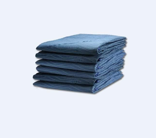 "Economy Moving Blankets - (6 Pads) Utility Moving Pads 72"" x 80"" - 35 lbs/dozen #ARMORBRAND"