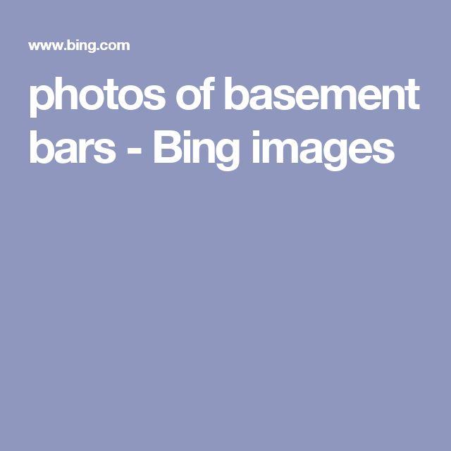 photos of basement bars - Bing images