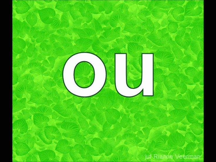 Letters flitsen groen