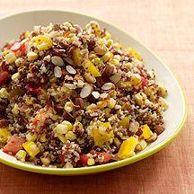 Salade de quinoa au maïs et aux poivrons