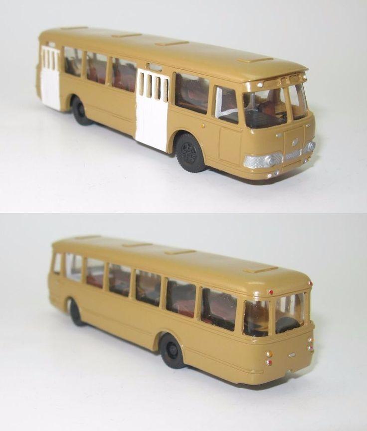 LiAZ 677 - städtischen Bus 1965 Erste Serie DDR UdSSR - 1:87 HO