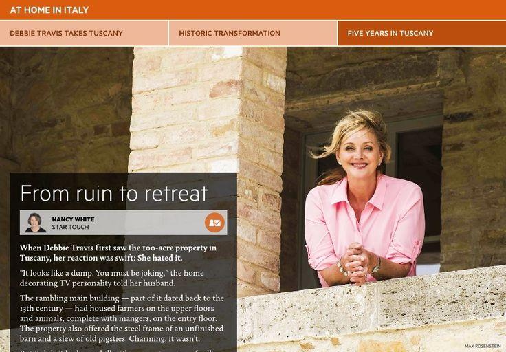 Debbie Travis takes Tuscany - Toronto Star Touch