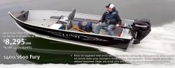 New 2013 - Lund Boats - 1600 Fury