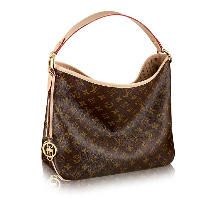 Delightful MM Monogram Canvas in Women's Handbags  collections by Louis Vuitton with Beige fabric