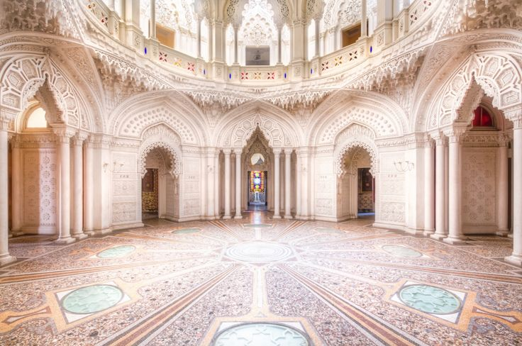 Castello di Sammezzano, Florence, Italy. Today, the castle is the object of an auction, its destiny is not sure.  Photographer: Roman Robroek