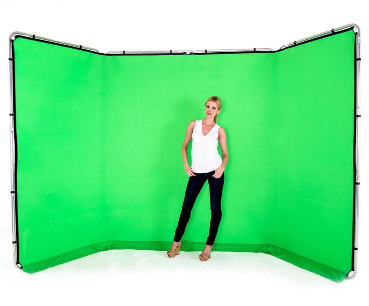 Lastolite Panorama Hintergrundsystem 4 x 2,3m, Greenbox grün - PHOTON HandelsgesmbH