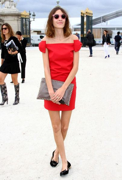 Alexa Chung - The entire outfit. Perfect.