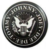 Ramones - 'Logo' Button Badge
