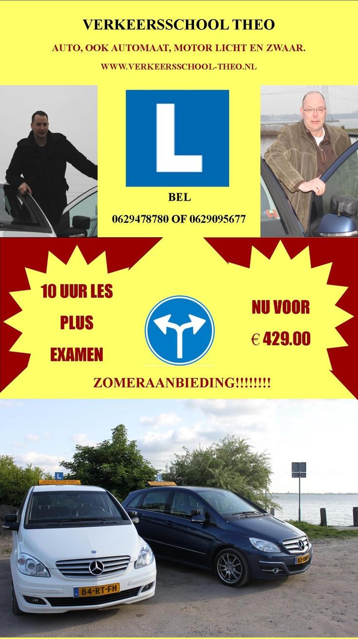 Verkeersschool Theo  Zomeraanbieding