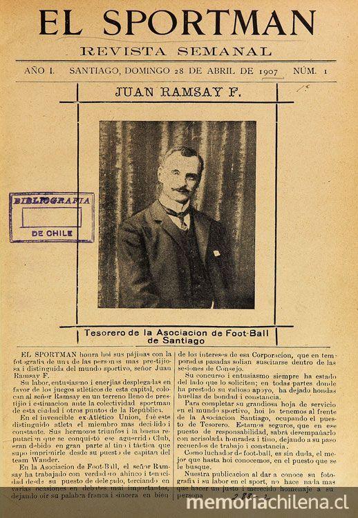 El Sportman: revista sportiva: año 1, n° 1-8, 28 de abril a 16 de junio de 1907