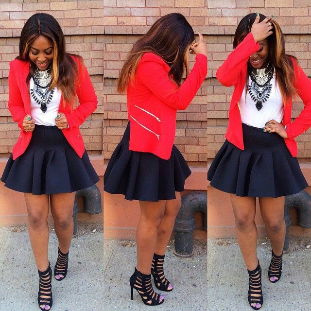 FLARE SKIRT OUTFIT