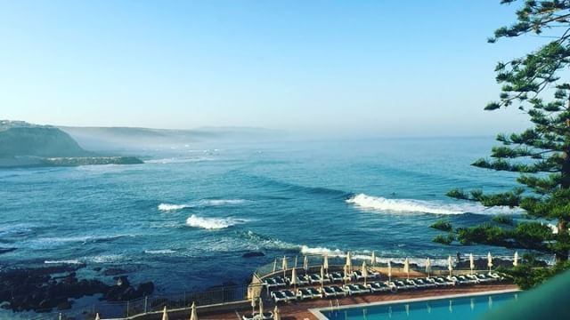 A beautiful haze on our last in morning in Ericeira..... #morning #timelapse #sunshine #beautiful #haze #sunrise #early #bluesky #hot #love #portugal #travel #tourism #ericeira #video #instagram #surf #surfer #wave #ocean #hotel #room #view #vscocam #landscape #landscape_lovers