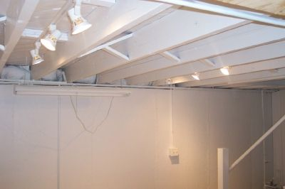 Open Up Low Basement Ceiling Low Ceiling Pinterest Unfinished Basement