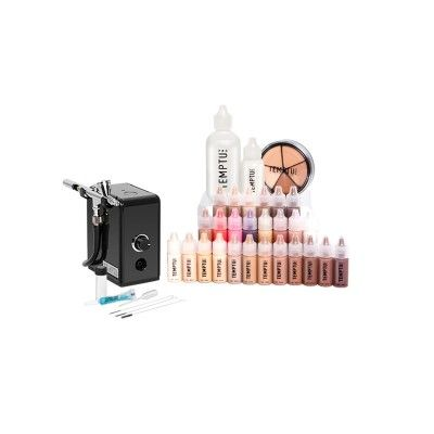 Makeup Pro Starter Kit - Deluxe | TEMPTU PRO I got this for Christmas and it's changed my life! Thanks temptu pro!