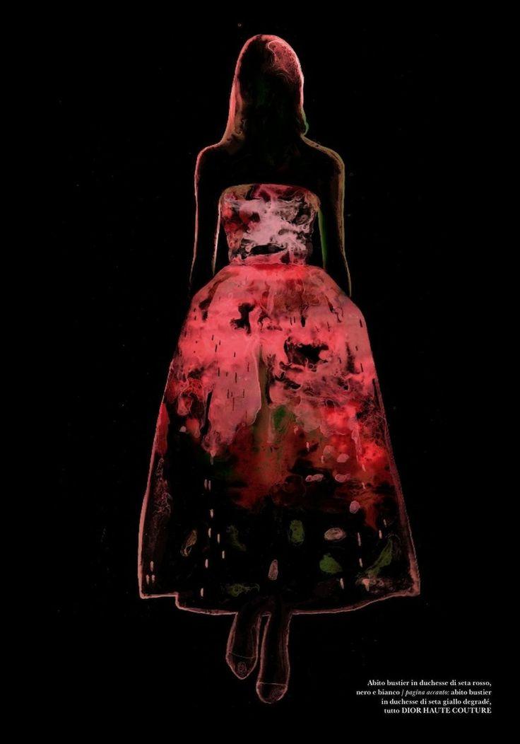 Dior in Flair Magazine Dec 2012 - Francois Berthoud reinterprets the season