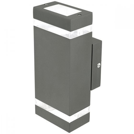 Brilliant Lighting Entasis Up/Down Outdoor Wall Light