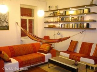 Awesome Livingroom with hammock!
