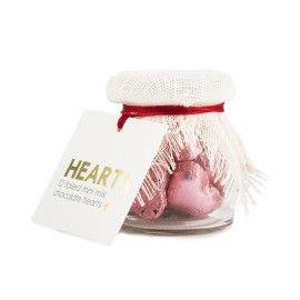 Mini Jar Filled with Milk Chocolate Heart 12x4.5g | Woolworths.co.za