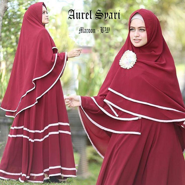 Maxi dress murah terbaru aurel