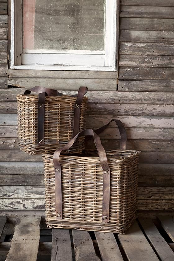 Bakery Baskets   Set Of 2   Wicker Baskets   Wicker Basket Storage   Wicker  Storage