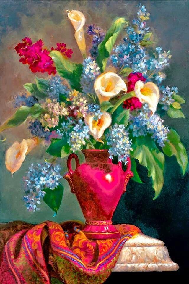 Painting by Fran Di Giacomo