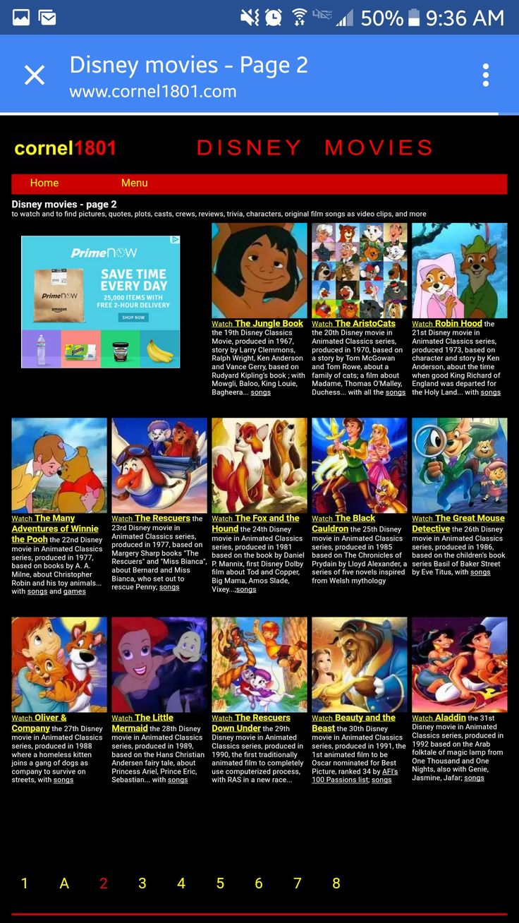 cornel1801 com disney movies html stream all the old disney movies for