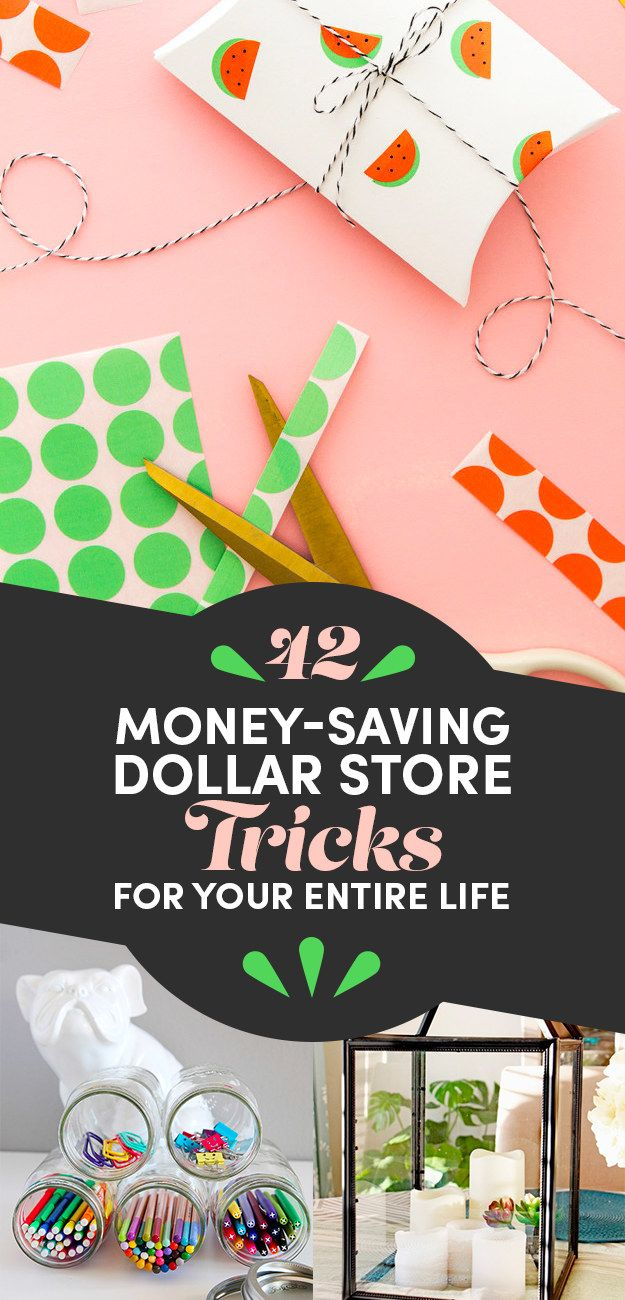 42 Dollar Store Tricks Every Broke Person Should Know
