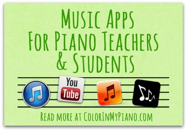 Music Apps for Piano Teachers & Students