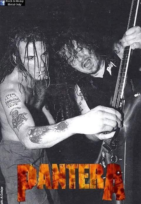 Phil Anselmo and Dimebag Darrell