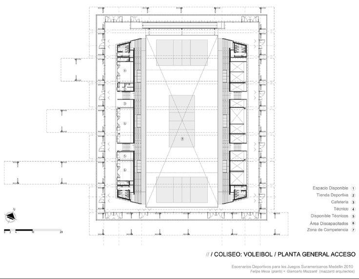 Arquitectos: Giancarlo Mazzanti (Mazzanti Arquitectos) + Felipe Mesa (plan:b)  Ubicación: Medellín, Colombia  Constructor: Coninsa-Ramón H.  Cliente: INDER  Superficie: 30.694 m2  Fecha Concurso: 2008  Fecha de Construcción: 2009  Fotografías: Iwan Baan: Felip Mesas, Fecha De, Mesas Plans B, Giancarlo Mazzanti, Colombia Constructor, 2008 Fecha, Fecha Concurso, M2 Fecha, 30 694 M2