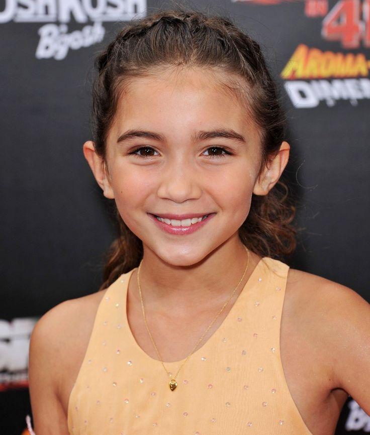 Rowan Blanchard - Spy kids 4 - Rebeca Wilson