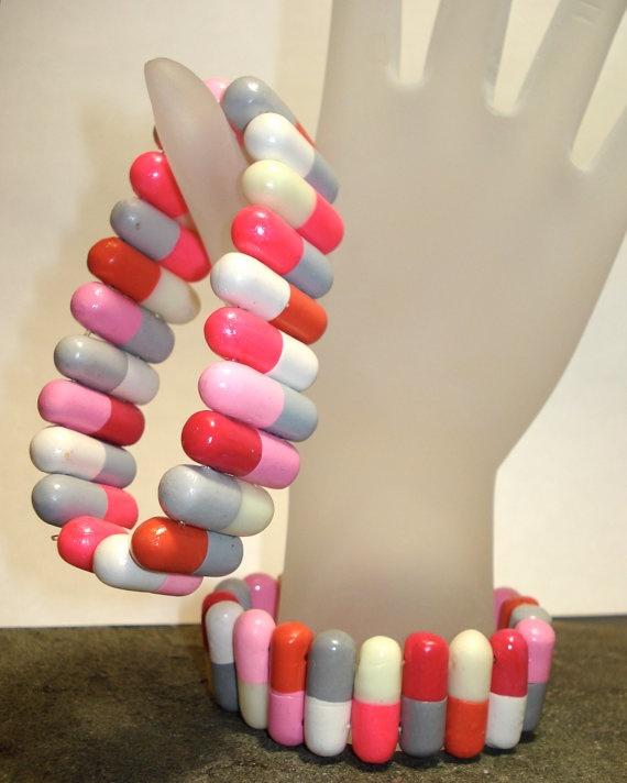 Pharma jewelry  Shop  Gearbunny  Cute & Morbid Handmade Jewelry...lmao!