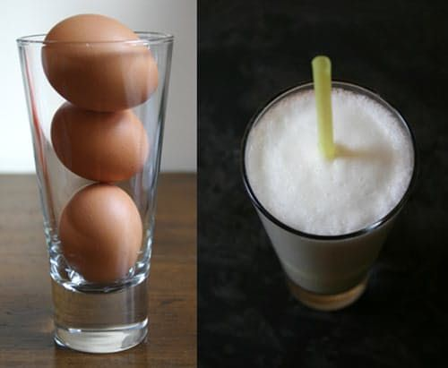 Straight Up: Raw Egg Whites in Cocktails (and Ramos Gin Fizzes) Are Back!
