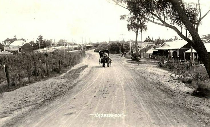 Hazelbrook,in the Blue Mountains region of New South Wales (year unknown).