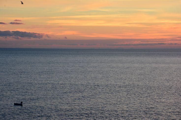 the best sunset ever, Mamula Island, Montenegro
