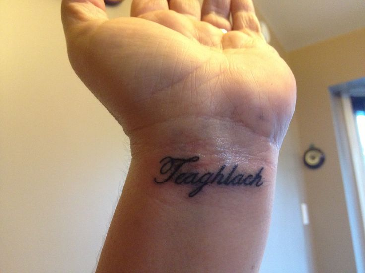Wrist gaelic meaning family tattoos pinterest for Tattoos with meaning for family