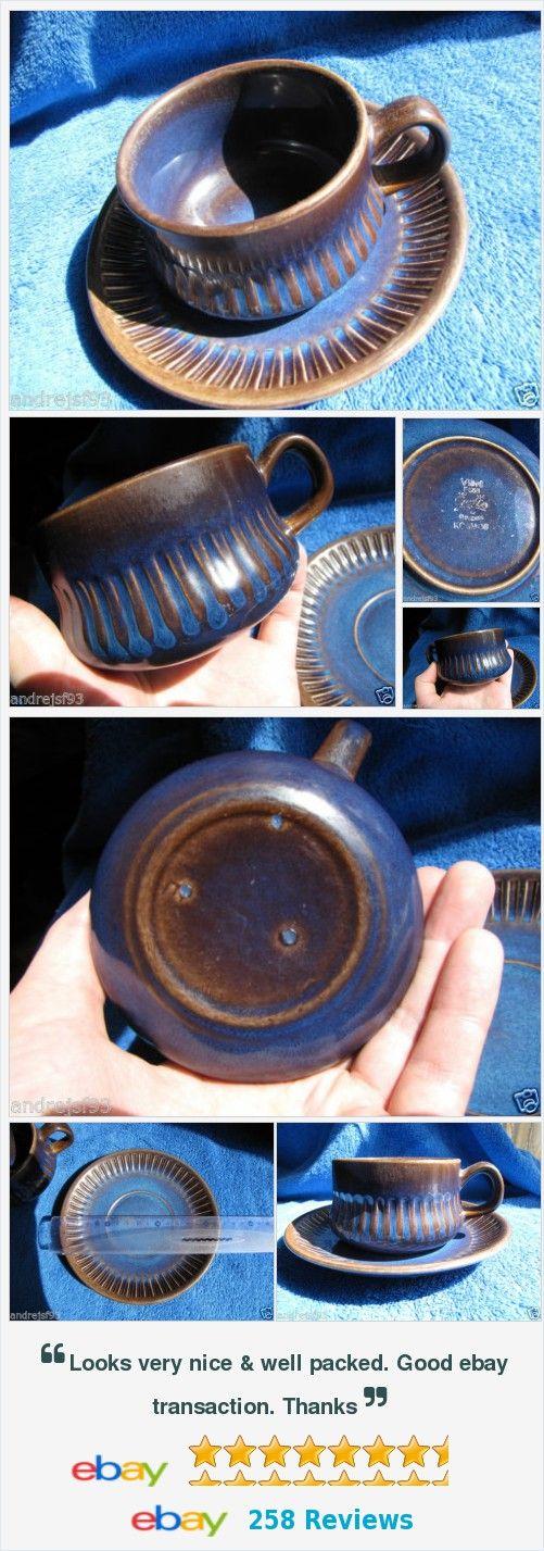 #Sweden #Gefle #Kosmos T E tea coffe #pair #cup #saucer #plate Vintage VDN For Sale #Scandinavian #vintage #pottery Wall #Decor #Vases #figurine #antique #ceramic http://www.ebay.com/itm/111984835716?ssPageName=STRK:MESELX:IT&_trksid=p3984.m1555.l2649