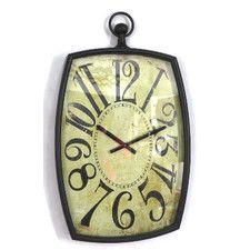 Timberland Metal Bulova Wall Clock
