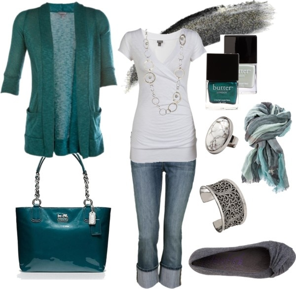 """""""Cardigan Love."""" by chelseawate on PolyvoreWeekend Outfit, Casual Outfit, Style, Fashion Outfits, Clothing, Colors, Fashionista Trends, Teal, Weekend Fashion"""