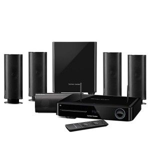 HARMAN KARDON BDS 880 - 5.1-channel, 325-watt, 3D Blu-ray Disc™ System with AirPlay and Bluetooth® technology.
